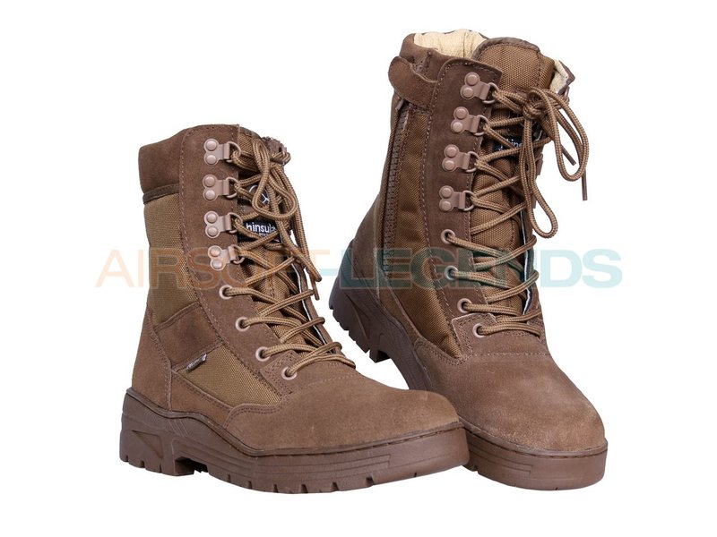 Fostex Sniper Boots with YKK Zipper Coyote