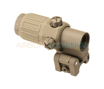 Element G33 3x Magnifier Tan