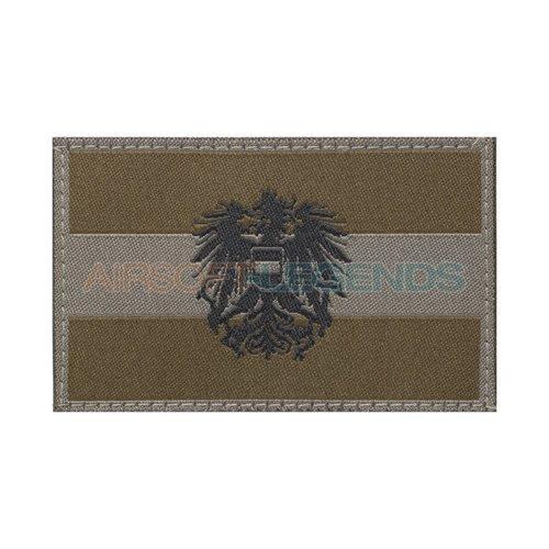 Clawgear Claw Gear Austria Emblem Flag Patch RAL7013