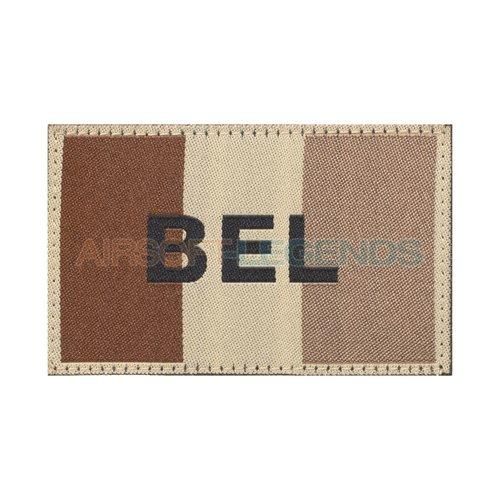 Clawgear Claw Gear Belgium Flag Patch Desert