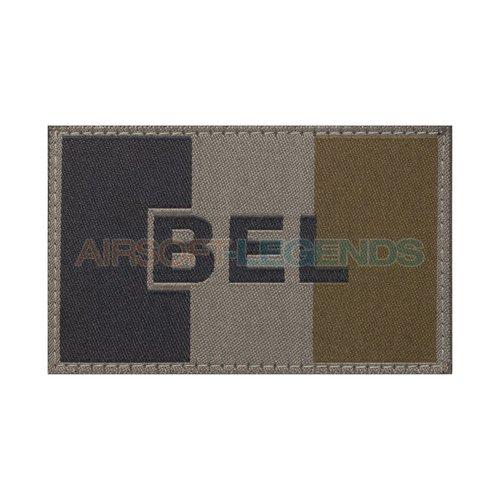 Clawgear Claw Gear Belgium Flag Patch RAL7013