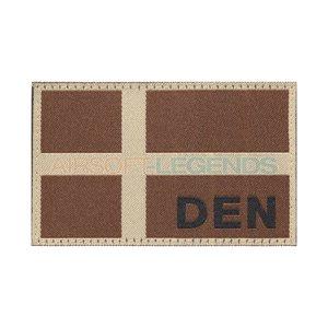 Clawgear Claw Gear Denmark Flag Patch Desert