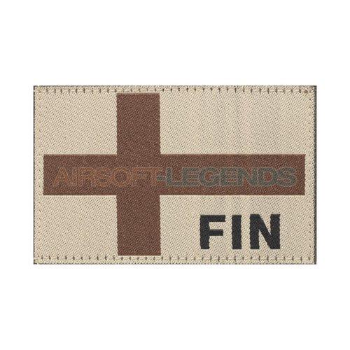 Clawgear Clawgear Finland Flag Patch Desert