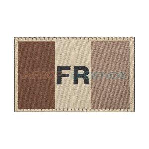 Clawgear Clawgear France Flag Patch Desert