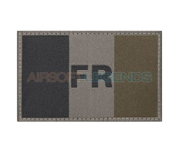 Claw Gear France Flag Patch RAL7013