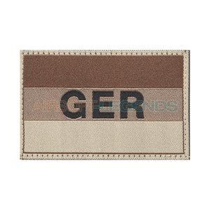 Clawgear Claw Gear Germany Flag Patch Desert