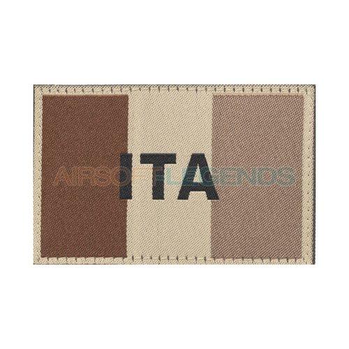 Clawgear Claw Gear Italy Flag Patch Desert
