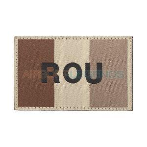 Clawgear Claw Gear Romania Flag Patch Desert