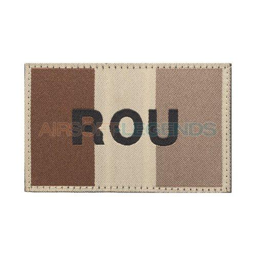 Clawgear Clawgear Romania Flag Patch Desert