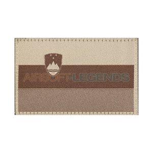 Clawgear Claw Gear Slovenia Flag Patch Desert