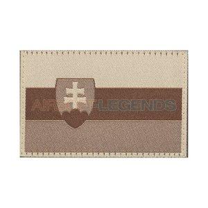 Clawgear Claw Gear Slovakia Flag Patch Desert