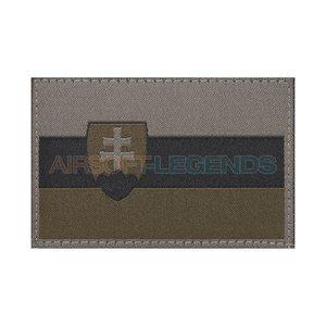 Clawgear Claw Gear Slovakia Flag Patch RAL7013