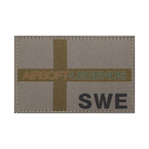 Clawgear Clawgear Sweden Flag Patch RAL7013