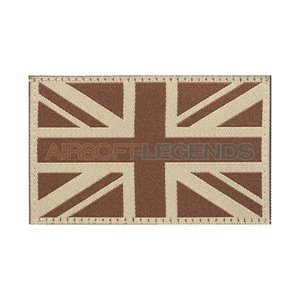 Clawgear Claw Gear Great Britain Flag Patch Desert