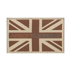 Clawgear Clawgear United Kingdom Flag Patch Desert