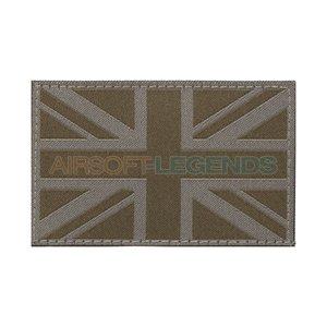 Clawgear Claw Gear Great Britain Flag Patch RAL7013