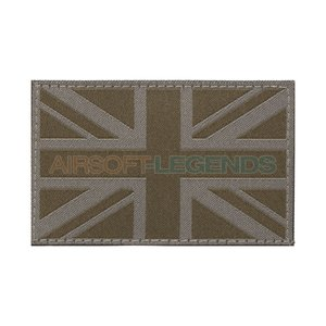 Clawgear Clawgear United Kingdom Flag Patch RAL7013
