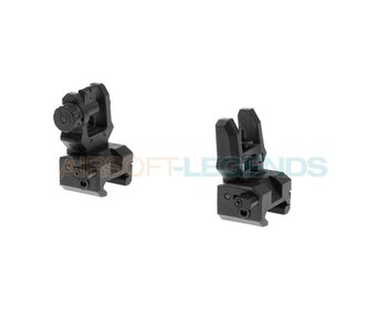 CAA Airsoft Low Profile Sight Set Black