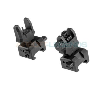 FMA Gen 3 Flip-Up Sights Black