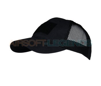 101Inc Baseball Cap Mesh Tactical Black