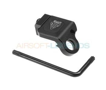 Leapers Low Profile Picatinny Angled QD Sling Swivel Adaptor