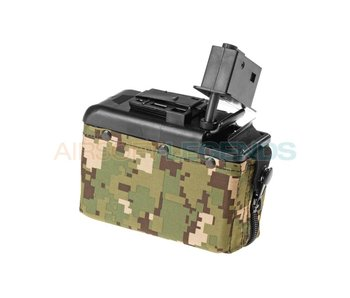 Clasic Army Boxmag M249 1200rds Woodland