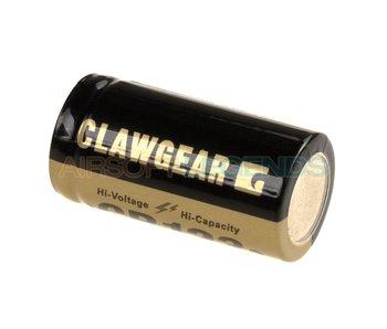 Claw Gear CR123 Lithium 3V