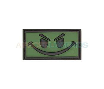 JTG Evil Smiley Rubber Patch OD