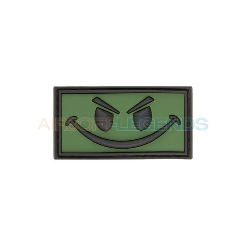 JTG JTG Evil Smiley Rubber Patch OD