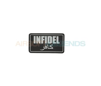 Infidel Rubber Patch Black