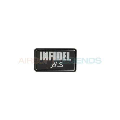JTG JTG Infidel Rubber Patch Black