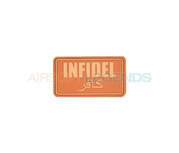 JTG Infidel Rubber Patch Coyote