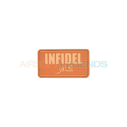 JTG JTG Infidel Rubber Patch Coyote