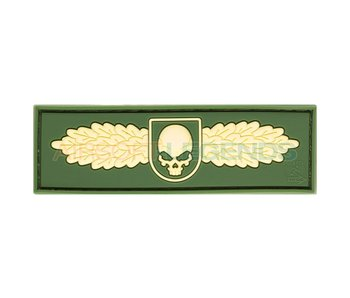 JTG Winged Skull Rubber Patch OD