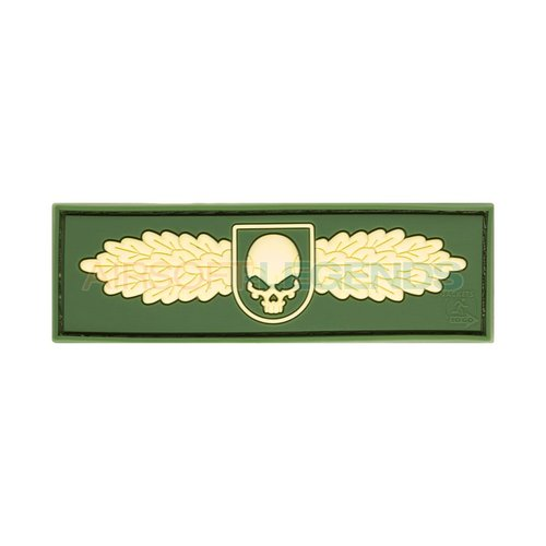 JTG JTG Winged Skull Rubber Patch OD