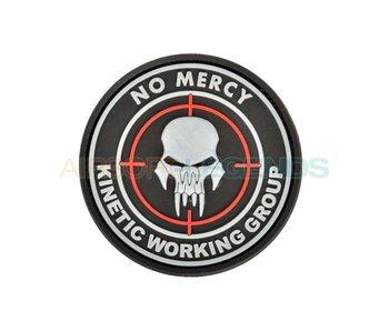 JTG No Mercy Rubber Patch Black