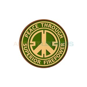 JTG JTG Peace Rubber Patch Multicam