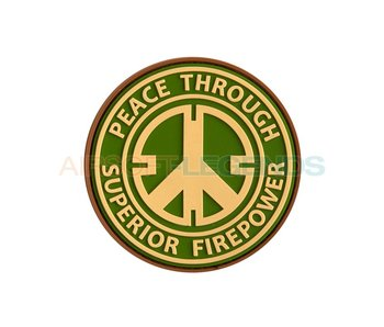 JTG Peace Rubber Patch Multicam