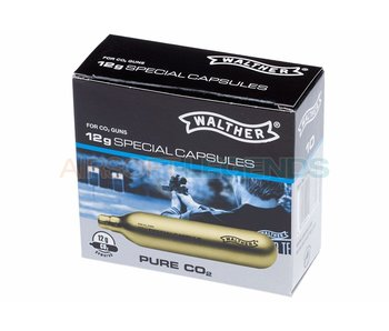 Walther Co2 Capsules 12g 10st