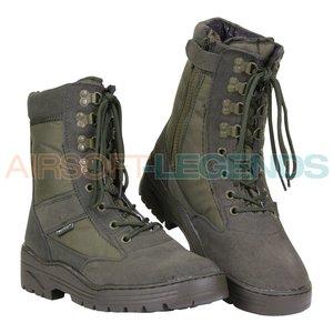 Fostex Fostex Sniper Boots with YKK Zipper Green