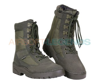 Fostex Sniper Boots with YKK Zipper Green