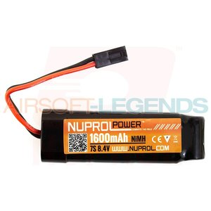 NUPROL Nuprol Power 8.4V 1600MaH Nimh Small Type