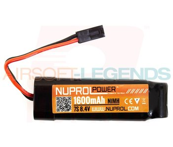 Nuprol Power 9.6V 1600MaH Nimh Small Type