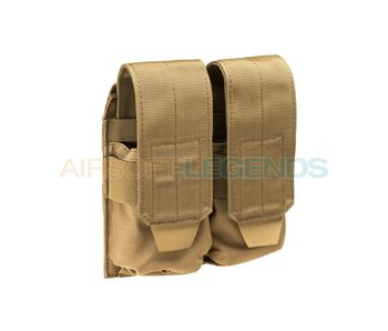 Condor M4 Double Mag Pouch Coyote