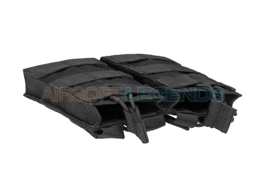 Condor M4 Double Open-Top Mag Pouch Black