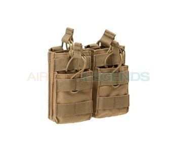 Condor M4 Double Stacker Mag Pouch Coyote