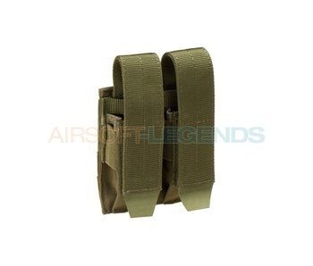 Condor Pistol Double Mag Pouch OD