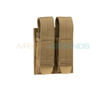 Condor Pistol Double Mag Pouch Coyote