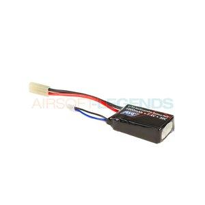 ASG ASG Lipo 7.4V 1000mAh 30C Compact Type