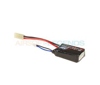 ASG Lipo 7.4V 1000mAh 30C Compact Type